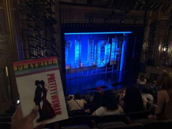 Nederlander Theatre, secção: Mezzanine L, fila: L, lugar: 27