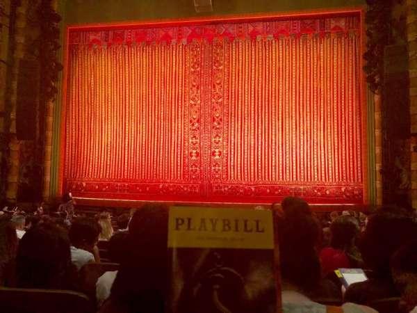 New Amsterdam Theatre, secção: Orchestra, fila: N, lugar: 103
