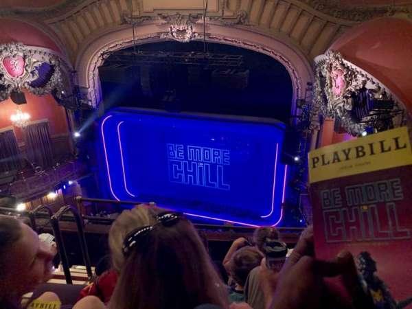 Lyceum Theatre (Broadway), secção: Balcony R, fila: E, lugar: 8