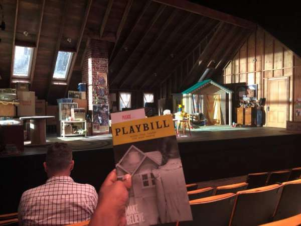 Tony Kiser Theatre, secção: Orchestra, fila: E, lugar: 5