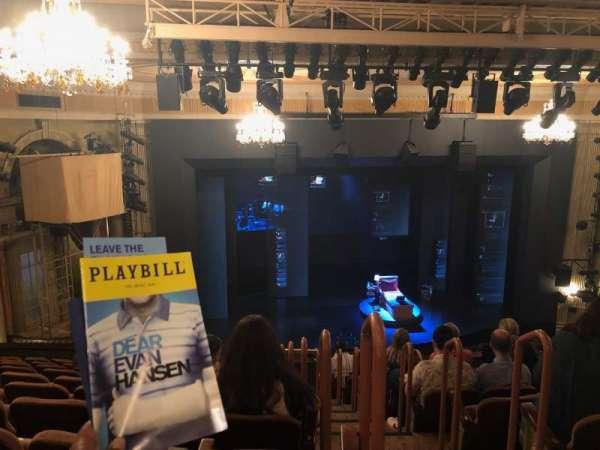 Music Box Theatre, secção: Mezzanine L, fila: L, lugar: 1