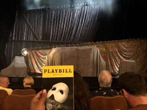 Majestic Theatre, secção: Orchestra C, fila: C, lugar: 106