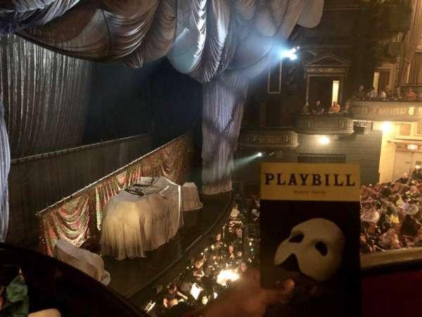 Majestic Theatre, secção: Box G, lugar: 6