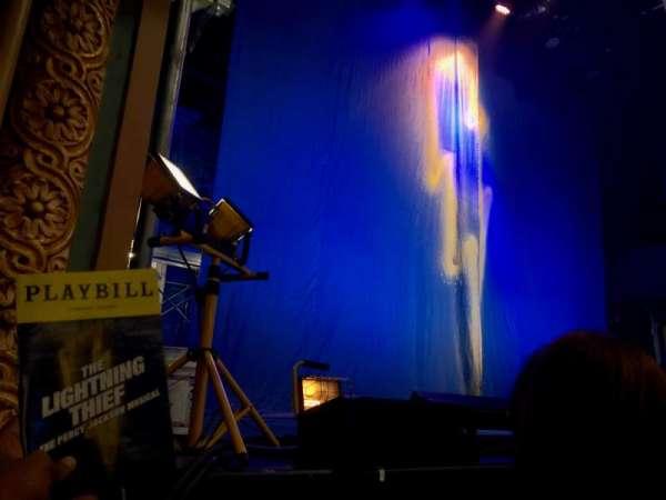 Longacre Theatre, secção: Orchestra R, fila: B , lugar: 6