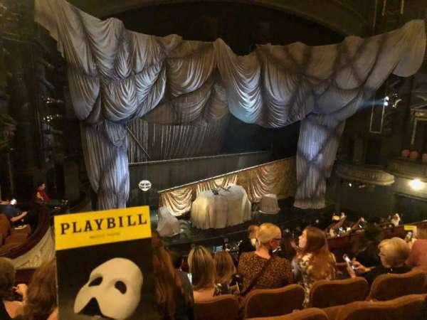 Majestic Theatre, secção: Front Mezzanine L, fila: F, lugar: 17
