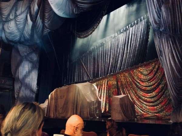 Majestic Theatre, secção: Orchestra R, fila: C, lugar: 12