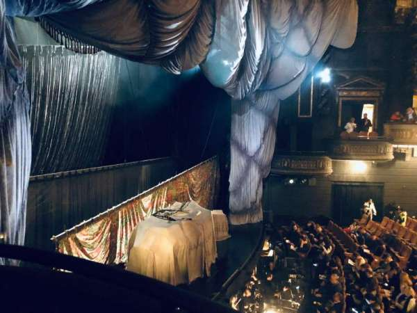Majestic Theatre, secção: Box F, lugar: 3