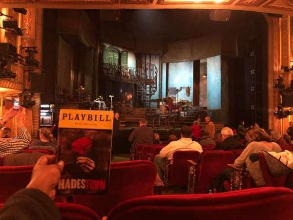 Walter Kerr Theatre, secção: Orchestra L, fila: P, lugar: 3
