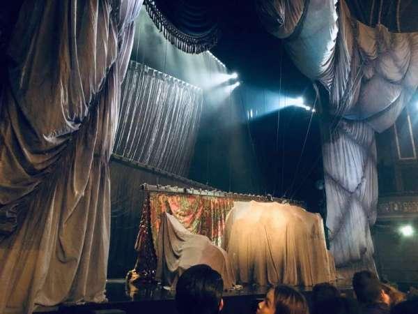 Majestic Theatre, secção: Orchestra L, fila: A, lugar: 15