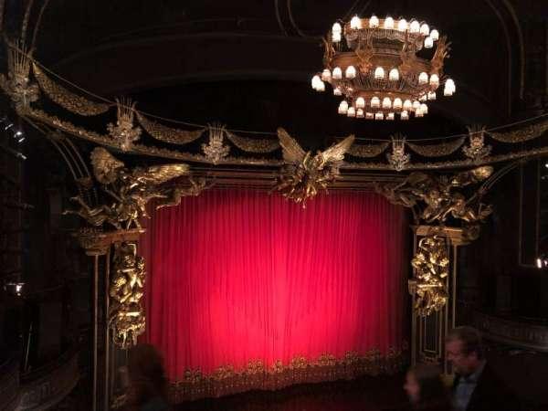 Majestic Theatre, secção: Front Mezzanine L, fila: D, lugar: 7