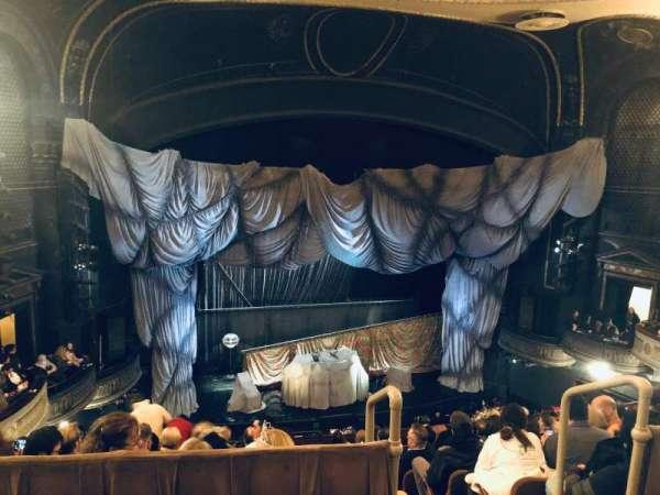 Majestic Theatre, secção: Rear Mezzanine LC, fila: A, lugar: 119