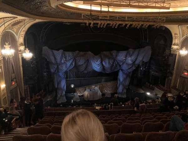 Majestic Theatre, secção: Rear Mezzanine LC, fila: J, lugar: 125