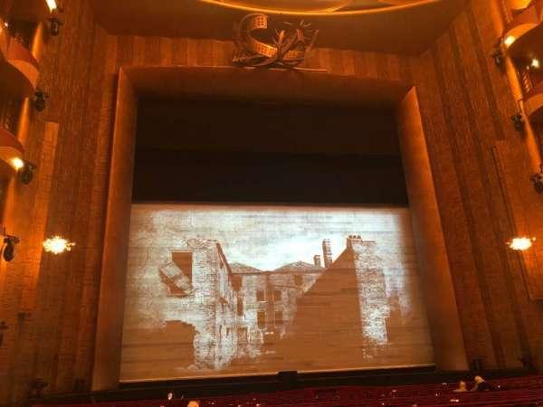 Metropolitan Opera House - Lincoln Center, secção: Orchestra, fila: T, lugar: 101