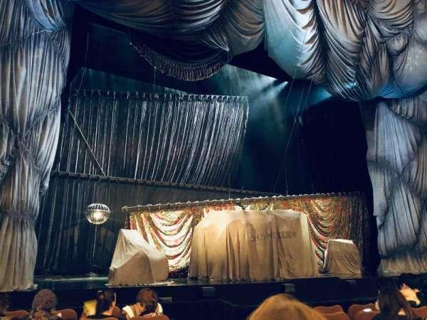 Majestic Theatre, secção: Orchestra L, fila: E, lugar: 5