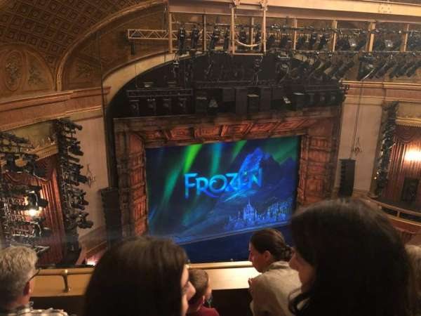 St. James Theatre, secção: Balcony L, fila: C, lugar: 15