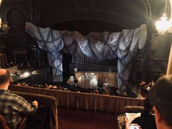 Majestic Theatre, secção: Rear Mezzanine R, fila: C, lugar: 2