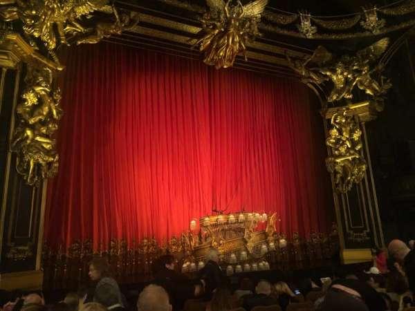 Majestic Theatre, secção: Orchestra L, fila: H, lugar: 3