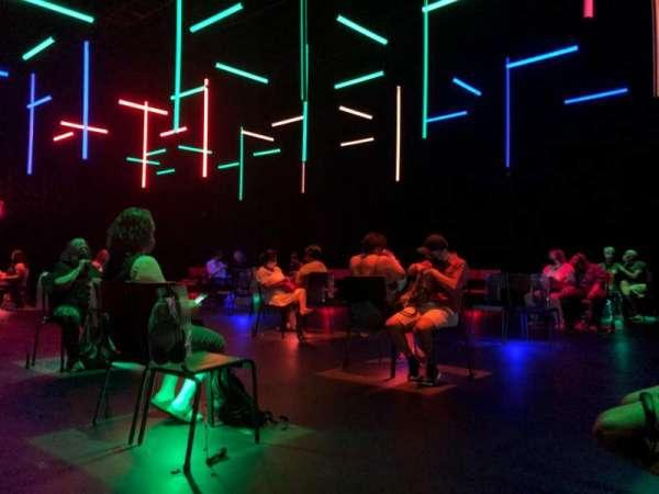 Daryl Roth Theatre, secção: Floor, fila: G, lugar: 109
