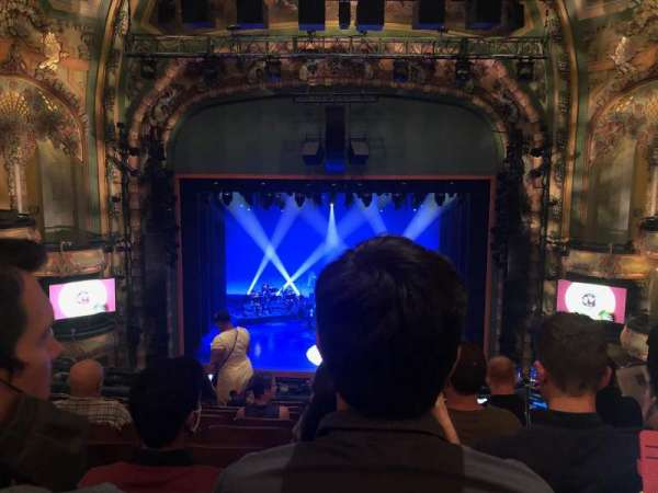 New Amsterdam Theatre, secção: Mezzanine C, fila: JJ, lugar: 109