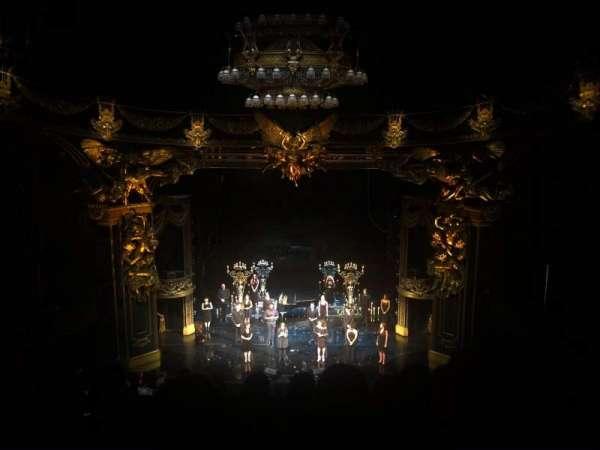 Majestic Theatre, secção: Front Mezzanine, fila: G, lugar: 108