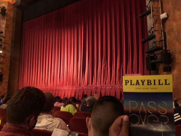August Wilson Theatre, secção: Orchestra R, fila: H, lugar: 12
