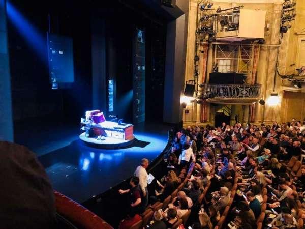 Music Box Theatre, secção: Left Box B, fila: Box 50, lugar: 1
