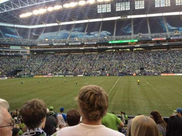 Centurylink Field, secção: 109, fila: M, lugar: 5