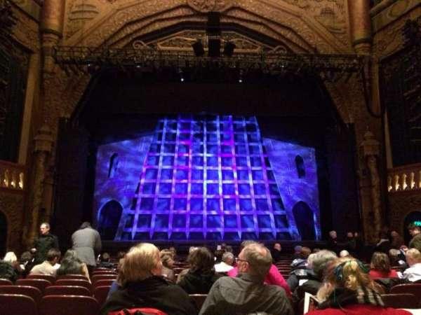 5th Avenue Theatre, secção: Orchestra C, fila: P, lugar: 106