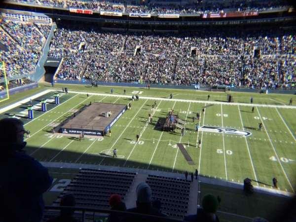Centurylink Field, secção: 335, fila: F, lugar: 5