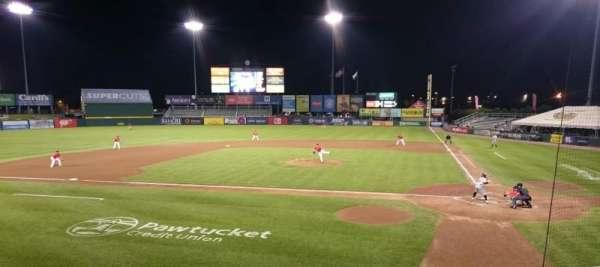 McCoy Stadium, secção: 9, fila: F, lugar: 5