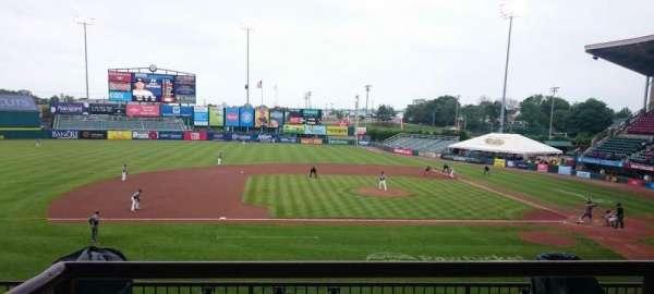 McCoy Stadium, secção: 11, fila: BB, lugar: 8