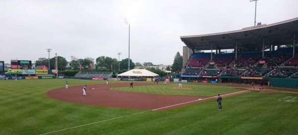 McCoy Stadium, secção: 14, fila: D, lugar: 25
