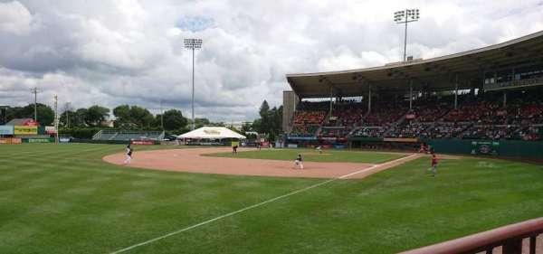 McCoy Stadium, secção: 15, fila: A, lugar: 16