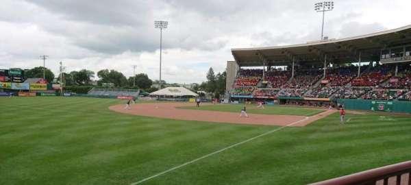 McCoy Stadium, secção: 15, fila: A, lugar: 23