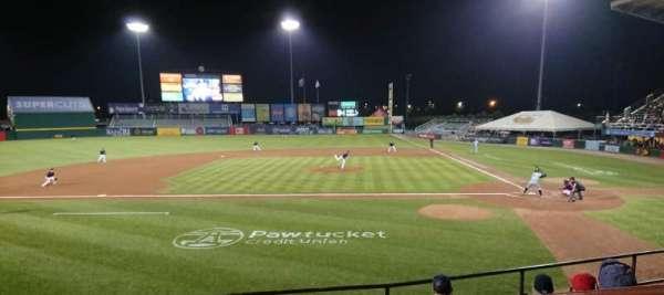 McCoy Stadium, secção: 10, fila: F, lugar: 1