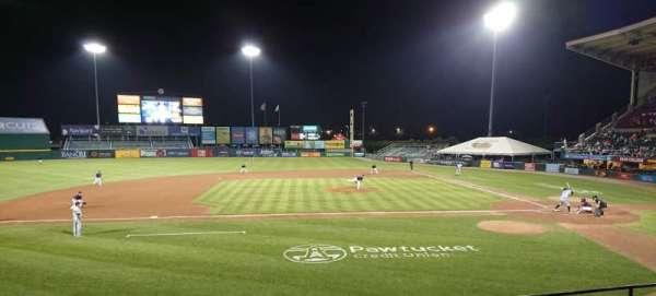 McCoy Stadium, secção: 10, fila: F, lugar: 19