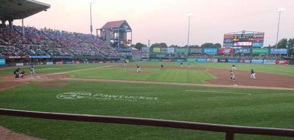 McCoy Stadium, secção: 2, fila: B, lugar: 15