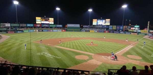 McCoy Stadium, secção: 8, fila: EE, lugar: 1