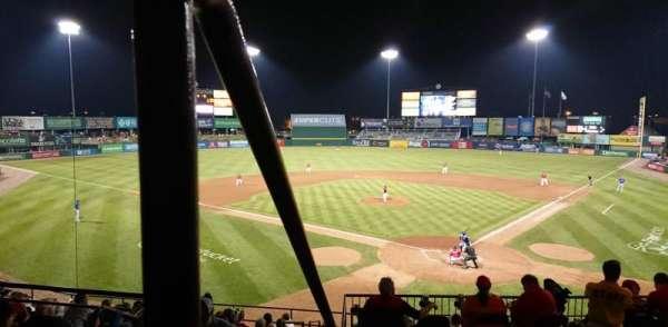 McCoy Stadium, secção: 7, fila: EE, lugar: 19