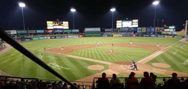 McCoy Stadium, secção: 7, fila: EE, lugar: 18