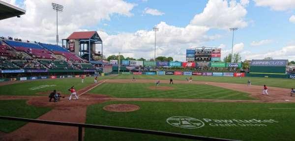 McCoy Stadium, secção: 4, fila: C, lugar: 8