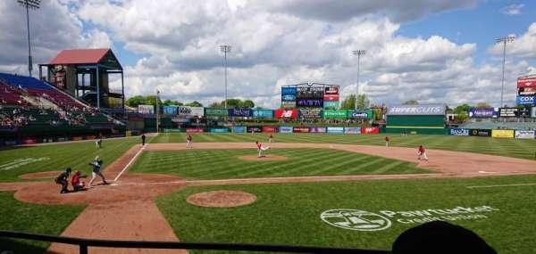 McCoy Stadium, secção: 4, fila: C, lugar: 15