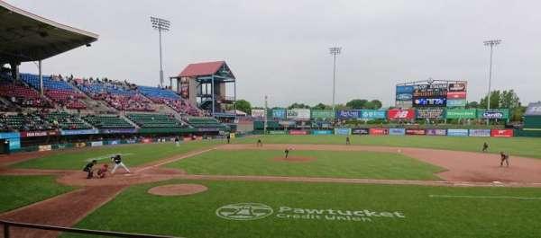 McCoy Stadium, secção: 3, fila: D, lugar: 11