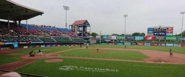 McCoy Stadium, secção: 3, fila: D, lugar: 1