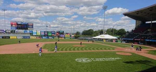 McCoy Stadium, secção: 11, fila: D, lugar: 6