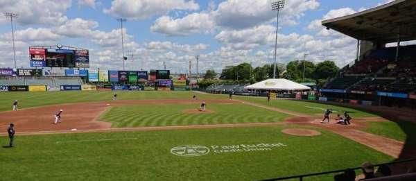 McCoy Stadium, secção: 11, fila: F, lugar: 1