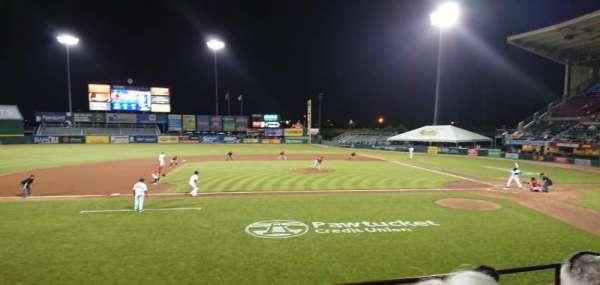 McCoy Stadium, secção: 10, fila: D, lugar: 16