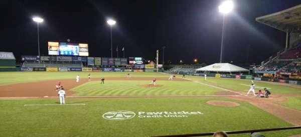 McCoy Stadium, secção: 10, fila: D, lugar: 11