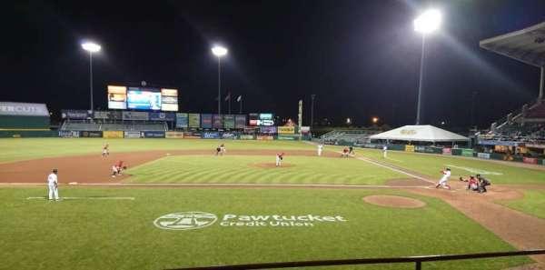 McCoy Stadium, secção: 10, fila: D, lugar: 6