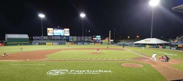 McCoy Stadium, secção: 10, fila: D, lugar: 1